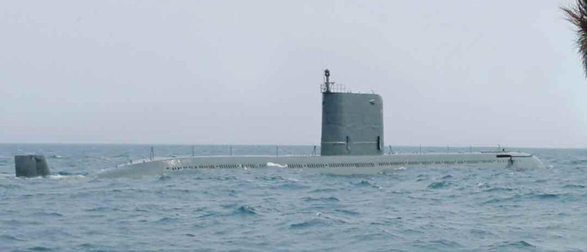 Resultado de imagen de submarino de la clase Sinpo