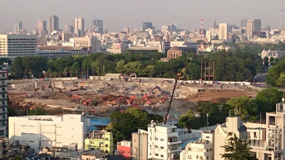 国立競技場が完全に解体された。。生まれ変わるとはいえ、これはこれで切ない。。 pic.twitter.com/oFZij1ZDPJ