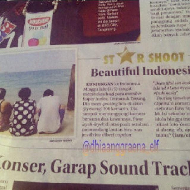 Yesung in local newspaper #yesung http://t.co/CBztQcDBFZ