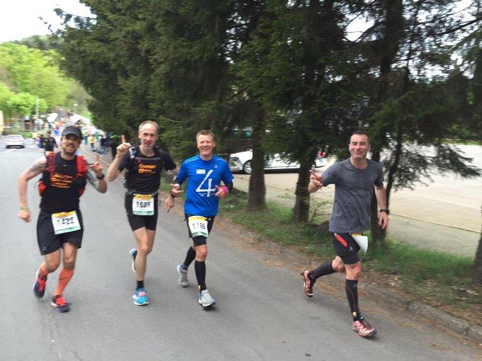 Die Krabbelgruppe Christian, Gunter, Holger und Ulf