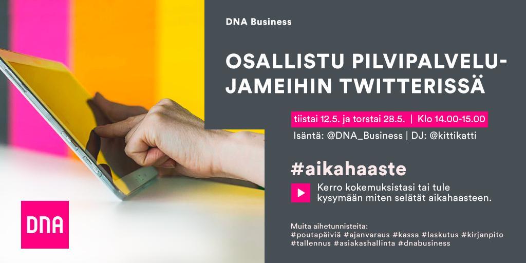 Thumbnail for Yrittäjän pilvipalvelujamit - selätä #aikahaaste