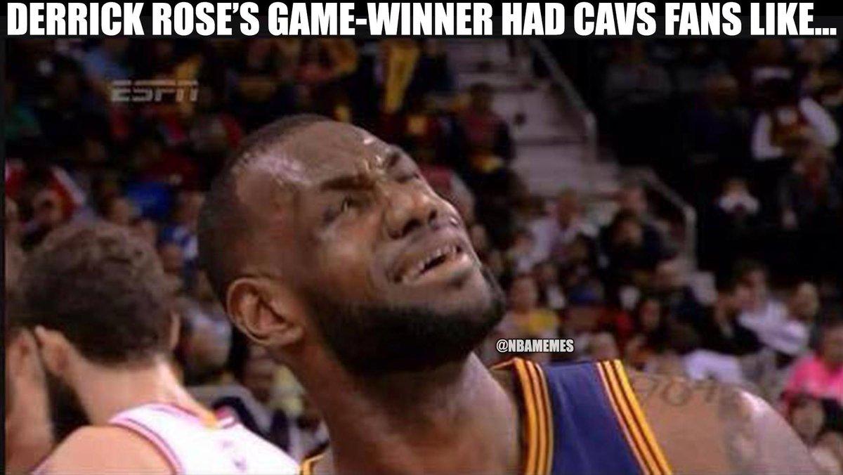 Derrick Rose Game Winner NBA Memes on Twitter: ...