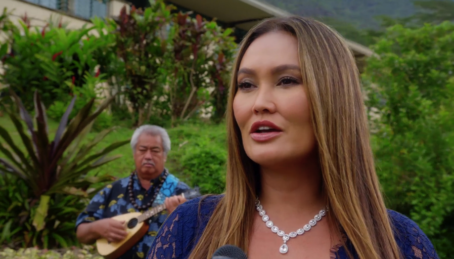 hawaii five0 on twitter quottiacarrere sings the
