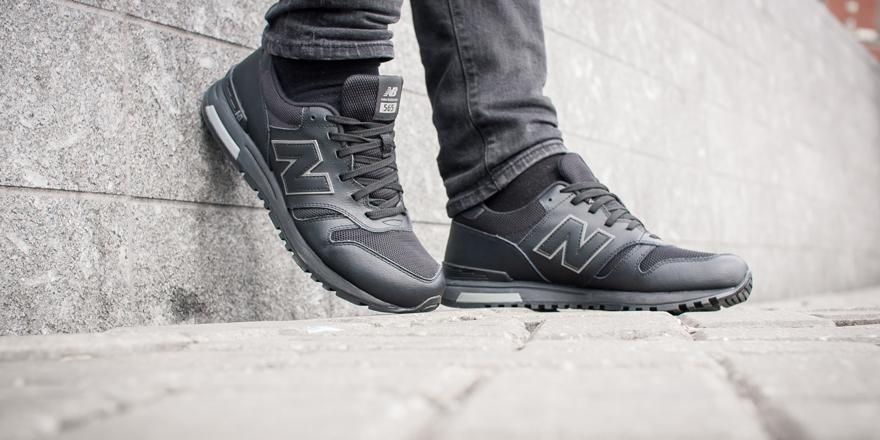 565 new balance Black