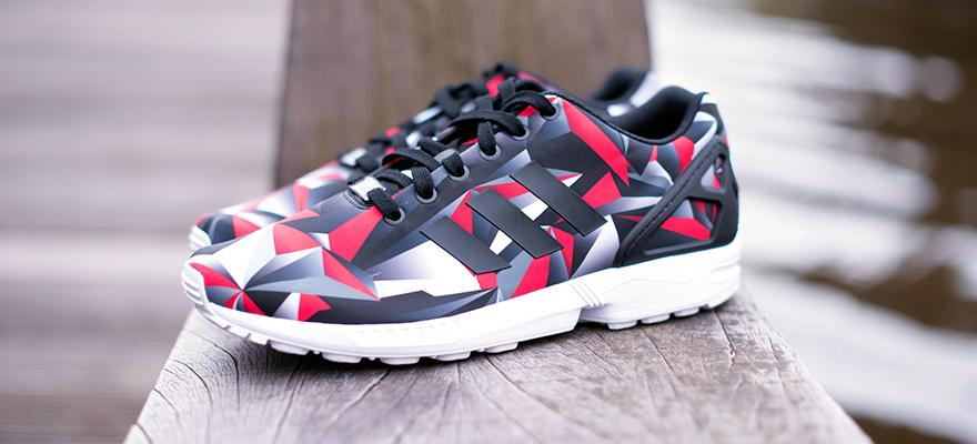 0008bebca adidas zx flux red prism