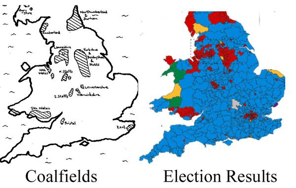 kenneth cukierverified account kncukier brilliant comparison of uk election map
