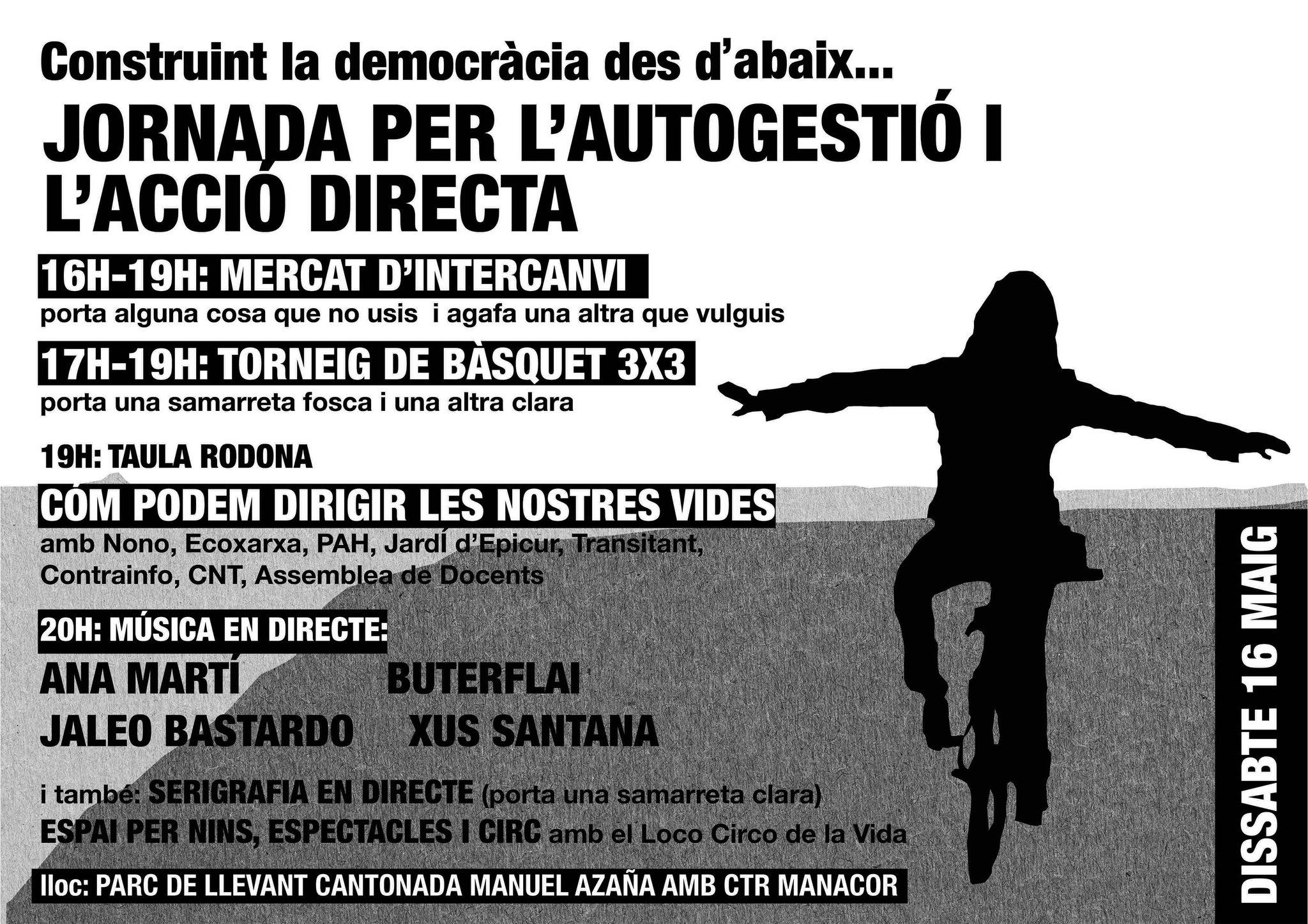 Jornada per l'autogestió i l'acció directa (16-05-15)