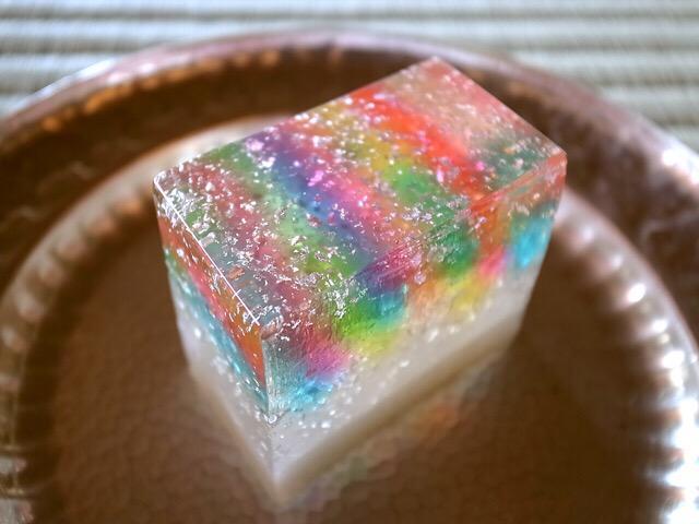 【綺麗な和菓子】 京生菓司 松彌 限定菓子 「裂遊(きれあそび)」 http://t.co/SFVwJ1n4Ou