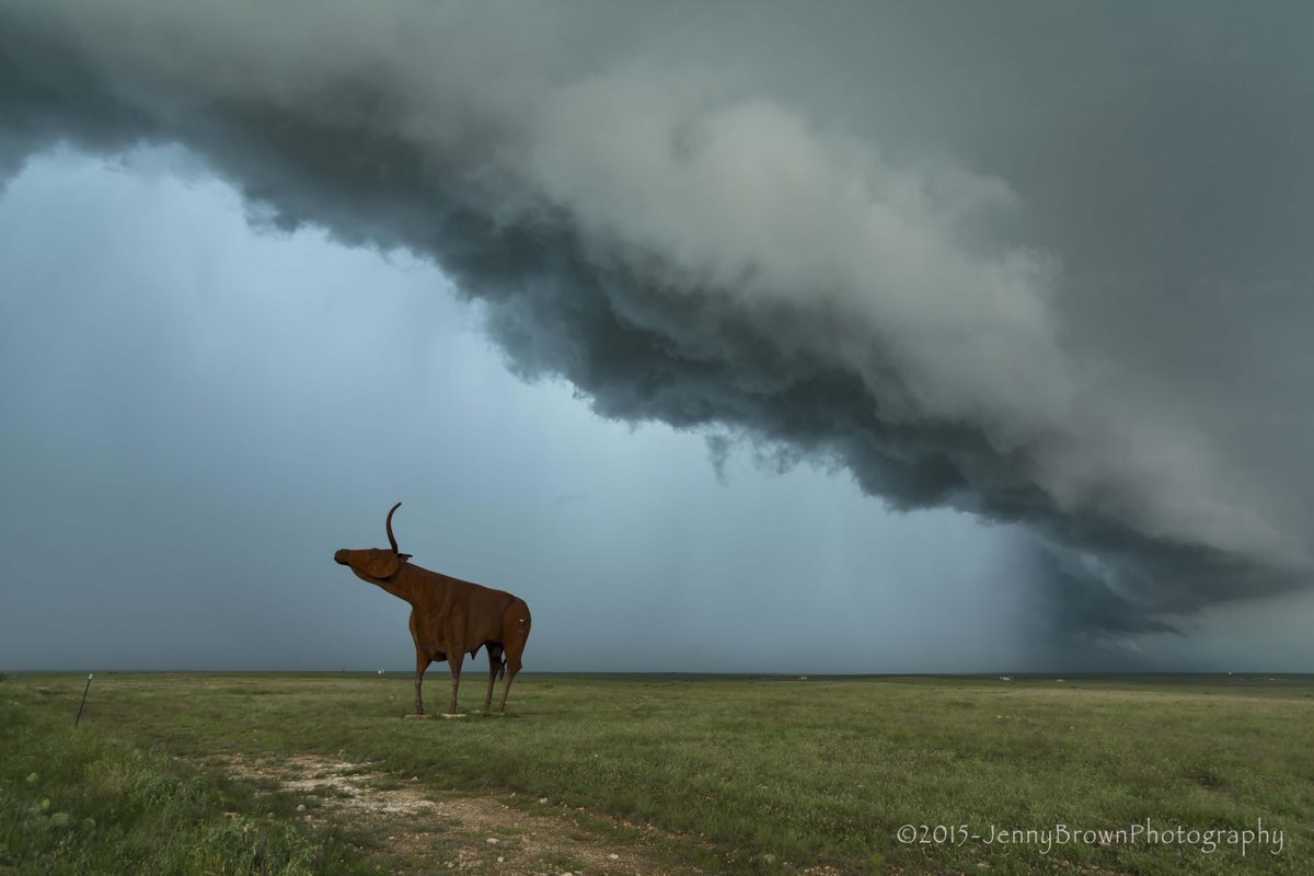 Because...Texas!! West of Throckmorton yesterday.  ~Jenny #txwx http://t.co/6XFeAL1IOB