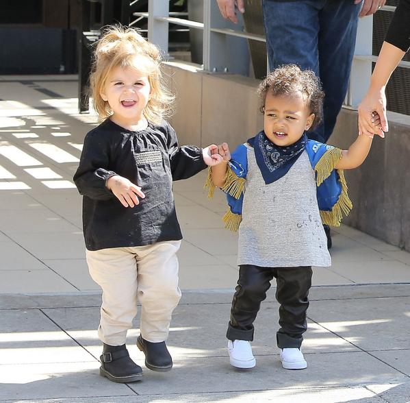 7ea843aec6fe Kourtney kardashian reveals penelope disick and north west have the ...