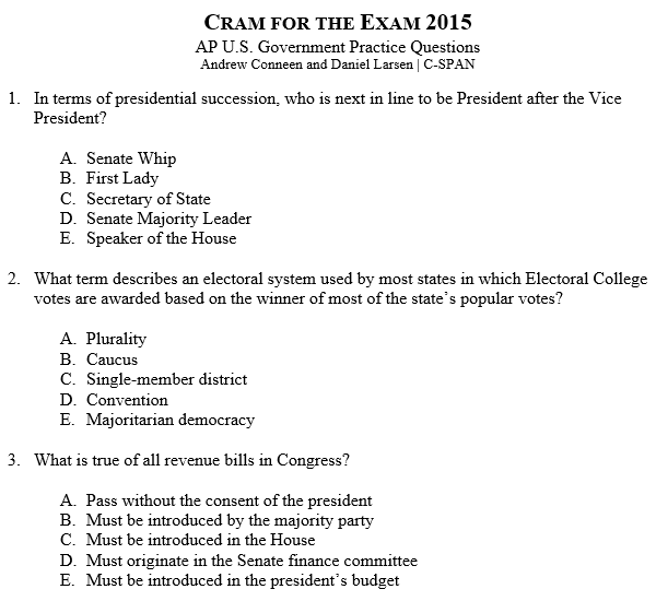 Practice essay writing test