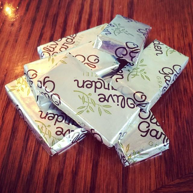 Olive Garden On Twitter Chocolate Mints Because When The Alfredo Is Gone You Still Need