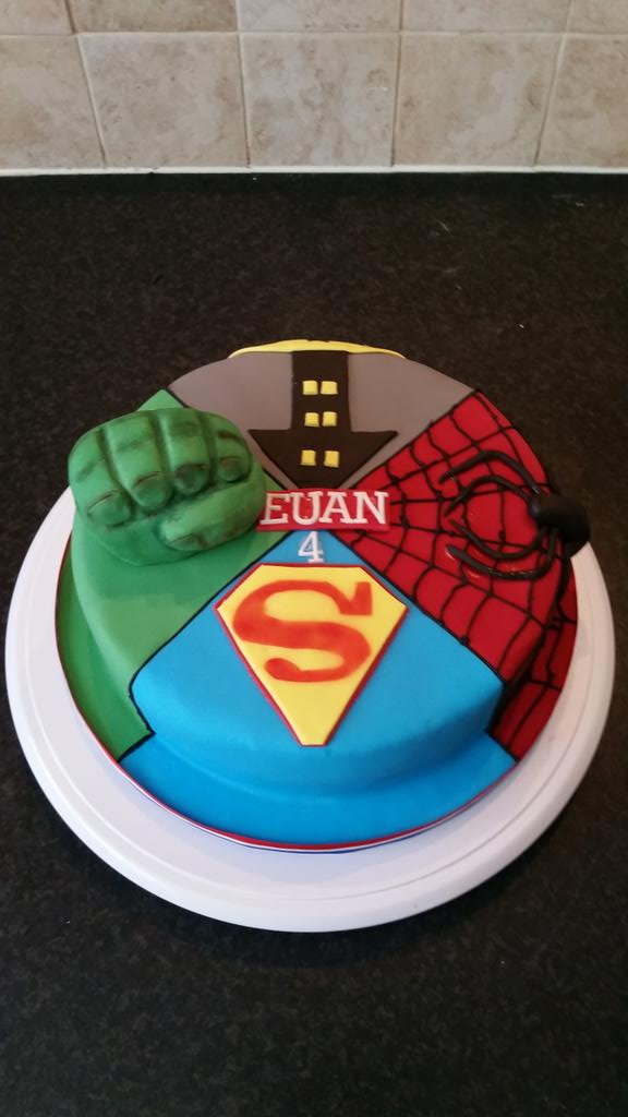 hip hop cake shop on Twitter Dc vs marvel cake superheros http
