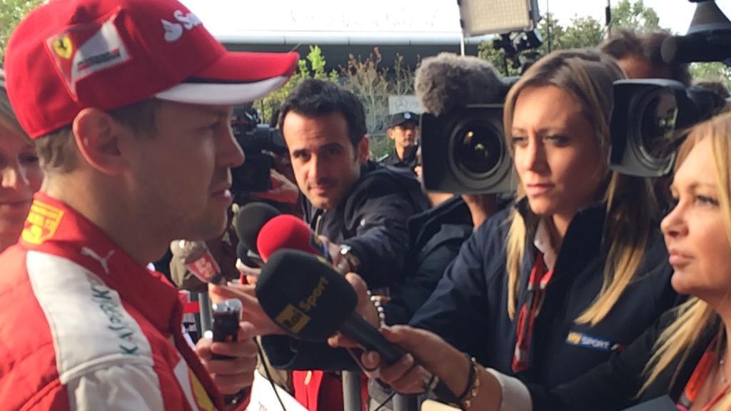 FOTO Sebastian Vettel (Ferrari)