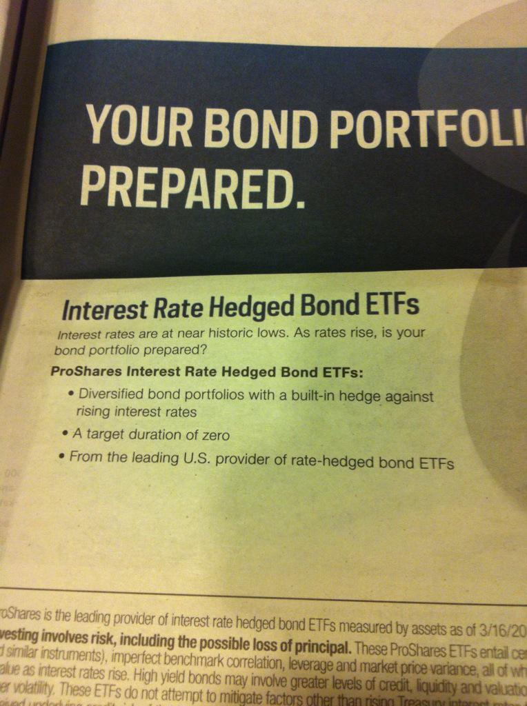 Barrons ad: as soon as rates ticked up, we're getting rate