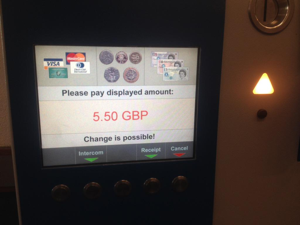 Aw, I like your optimism, parking machine & normally I'd agree with you, but it's been a rough week. You do you, tho. http://t.co/vH55xebgGx