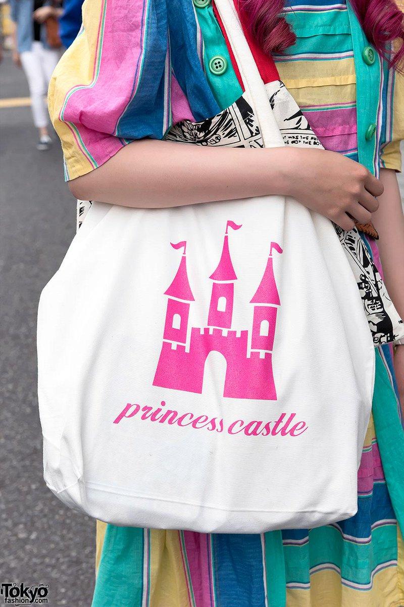 Harajuku girl w  resale rainbow dress 7c1e5a6e2a5e