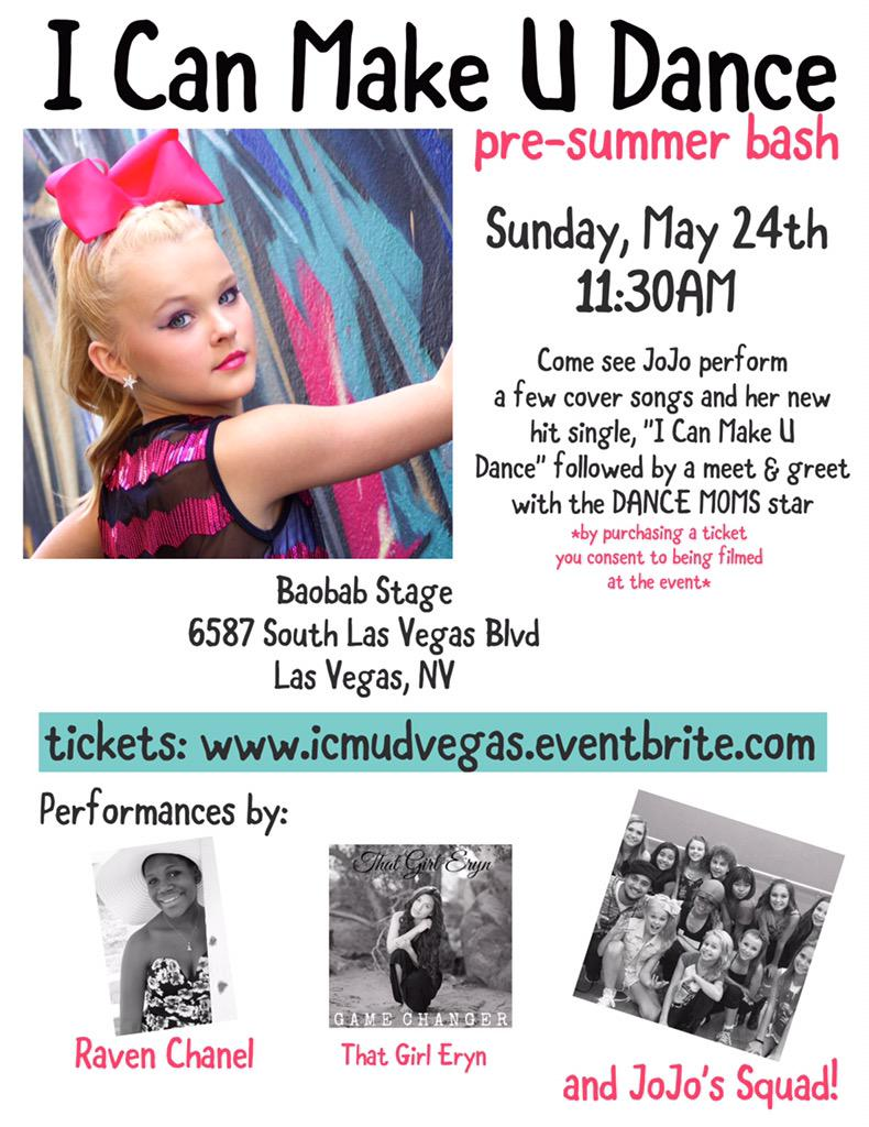 Jojo Siwa On Twitter If You Live In Las Vegas Come Out And