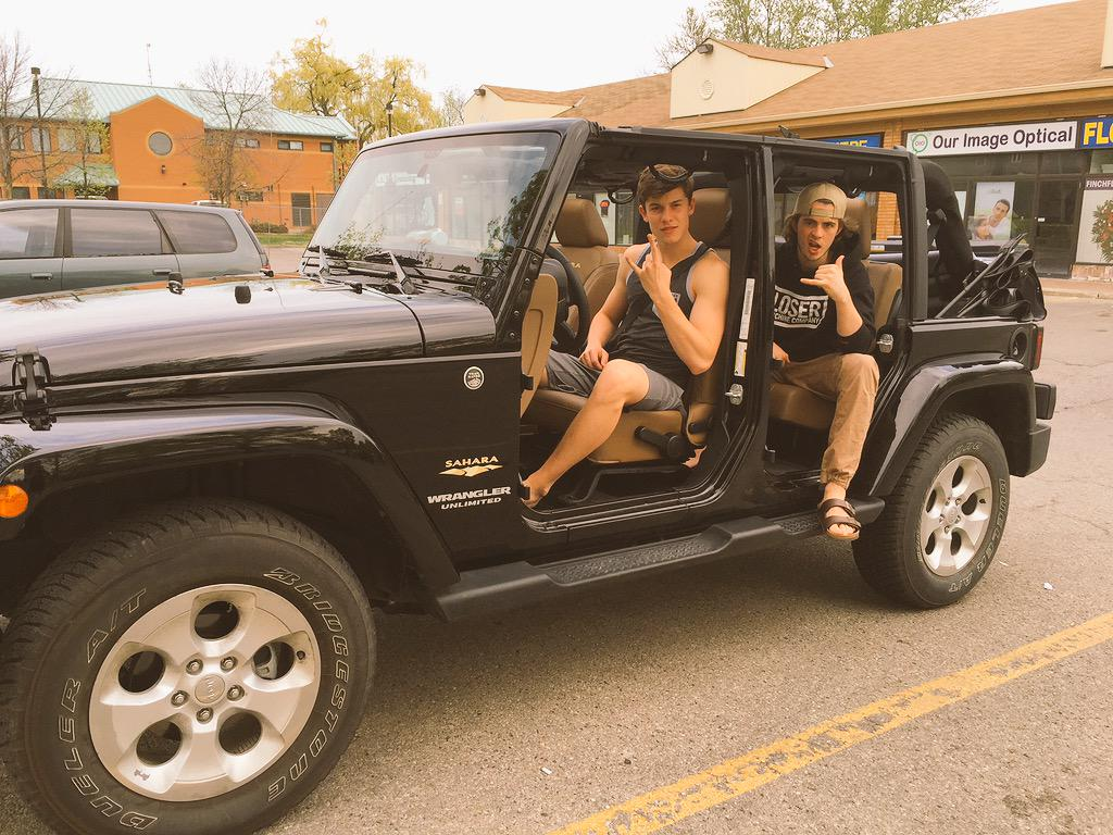 Shawn Mendes On Twitter Quot Took The Doors Of The Jeep Today
