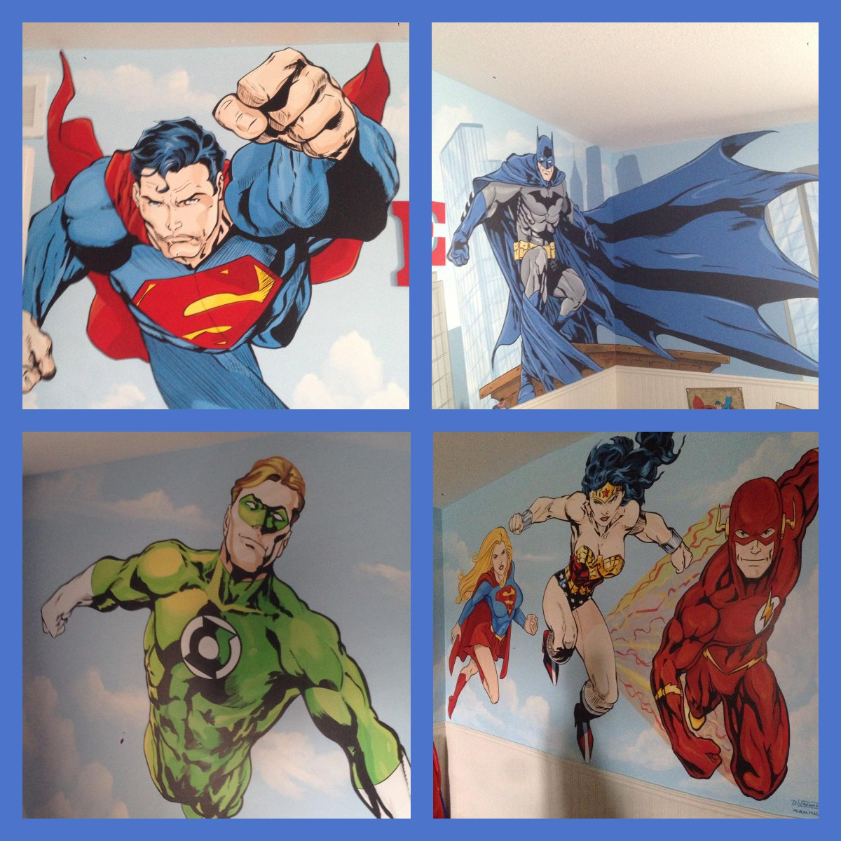 Hey @Nice_Jewish_Boy - took some shot of wall murals my nephew commissioned for his son's room. #DCRocks http://t.co/5N8U7PyeQ3