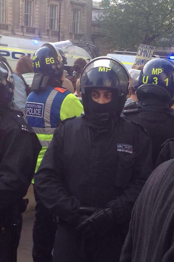 #londonprotest and apparently Ed Miliband already has a new job... http://t.co/uaxc1PKXzd