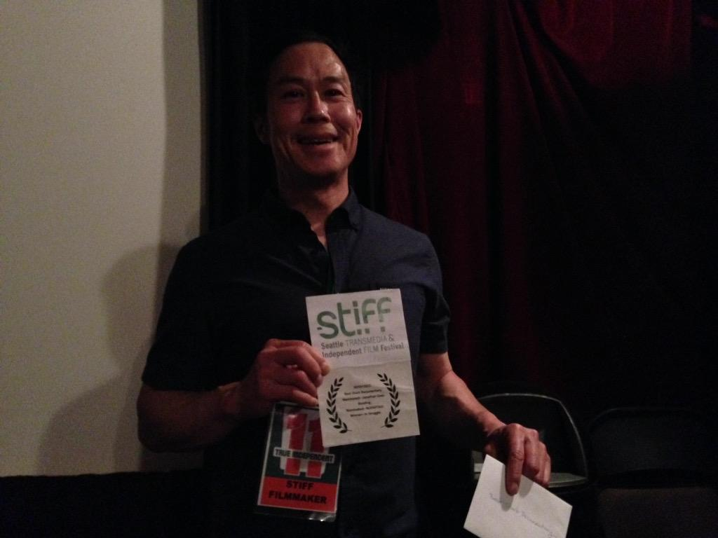 #STIFF2015 Best Short Documentary goes to IN STRUGGLE by Kevin Owyang (@SpeetzFire)! http://t.co/yEUVAaLOrm