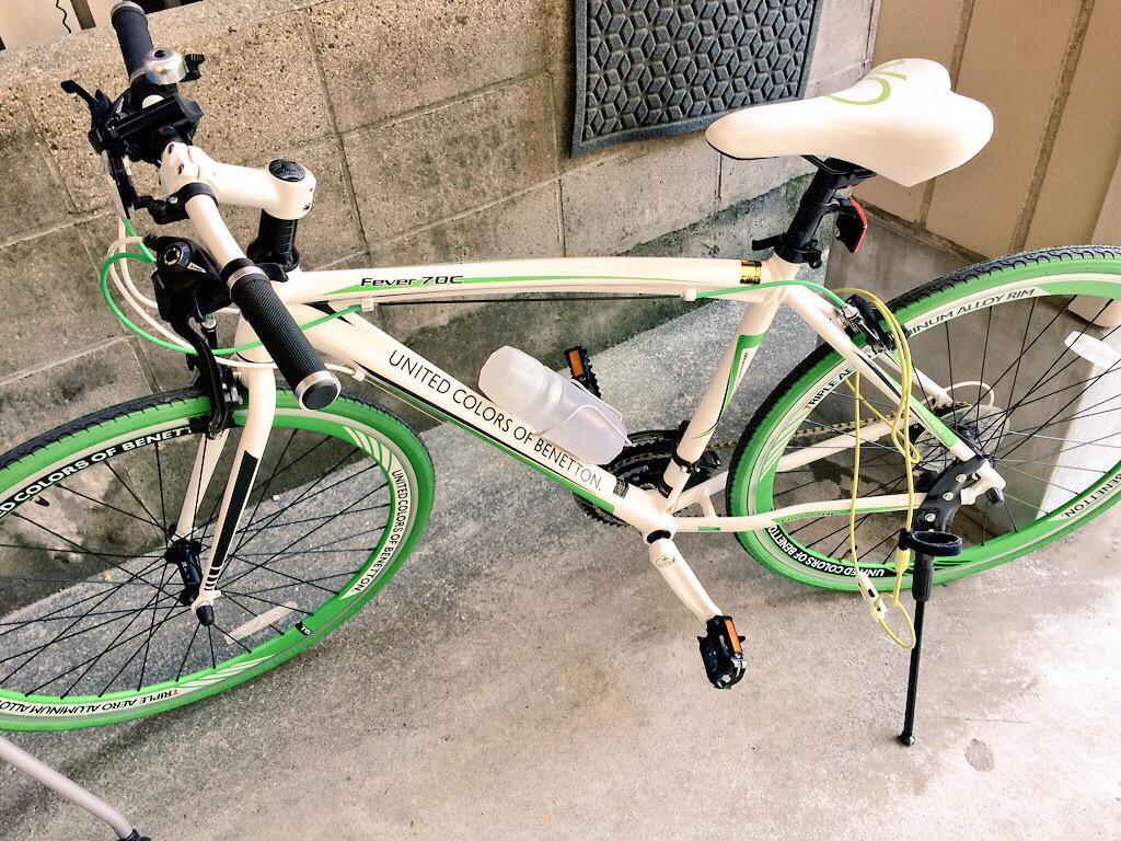 おじさんのクロスバイクが盗まれました。車体番号はY40517781です。もしも見かけたらこの垢までご連絡を。 http://t.co/BouibxISHQ