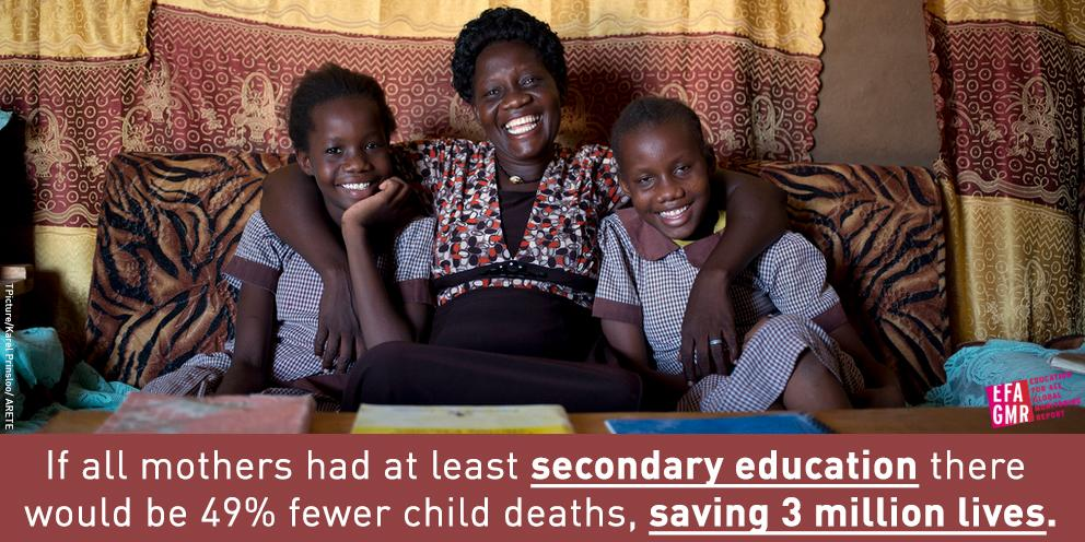 Today, when many are celebrating #MothersDay, help share the importance of women's #education: http://t.co/5VB9oKpHis http://t.co/bjQIbDqQUY