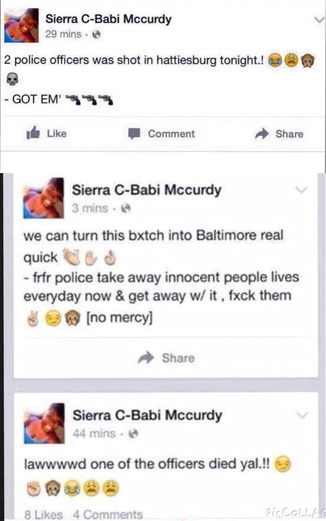 Sierra C-Babi McCurdy fired by Subway (allegedly)