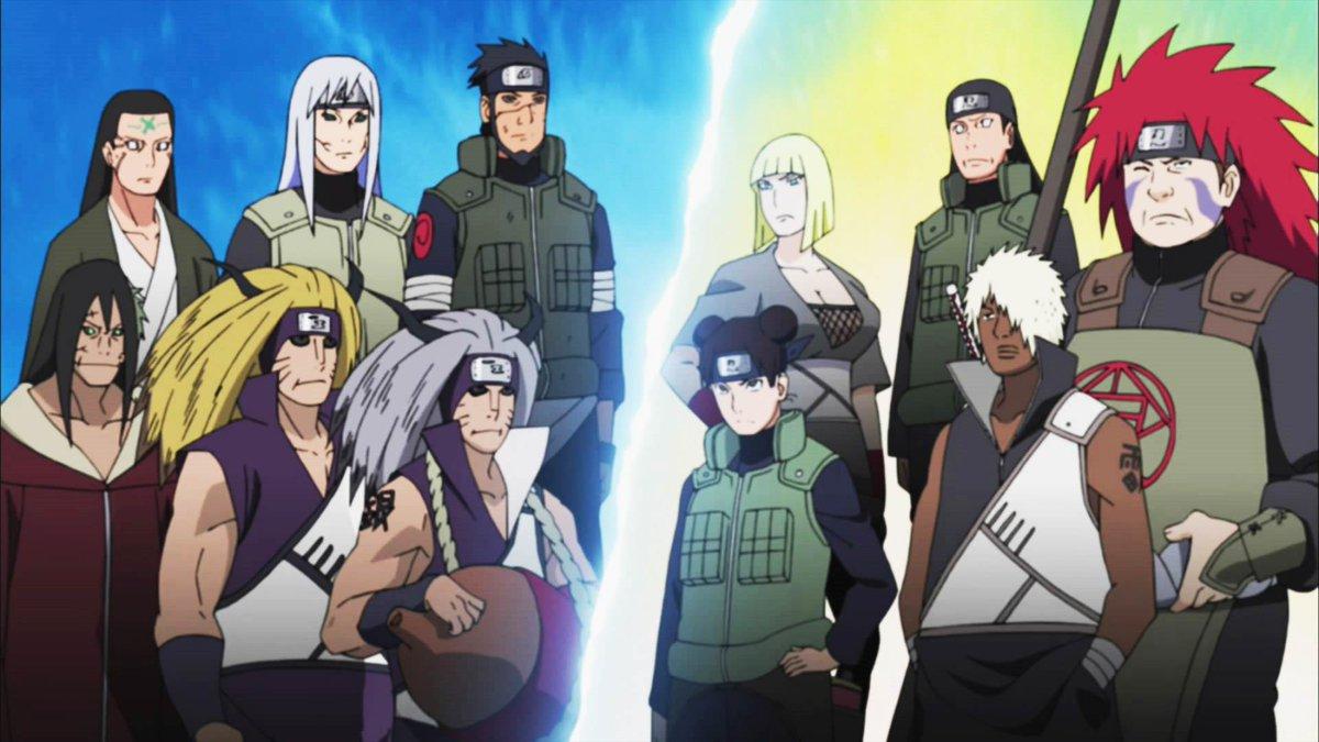 Naruto On Twitter Aliansi Shinobi Vs Edo Tensei Shinobi With Zetsu Putih Http T Co M85bo153wp