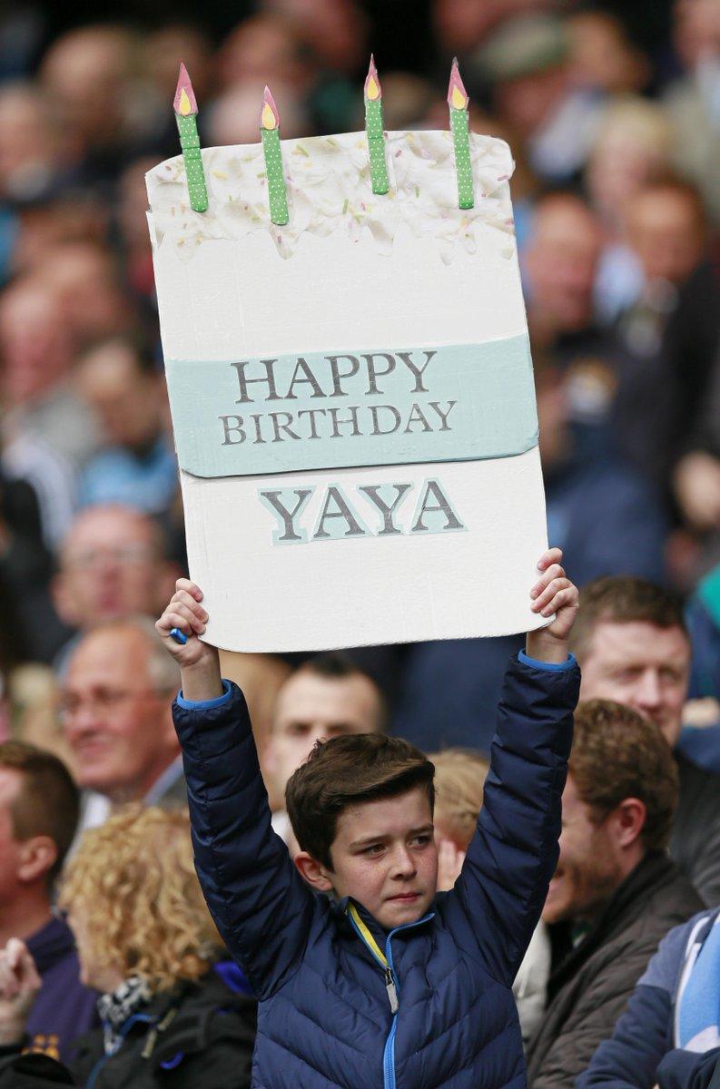 Liga Inggris  - Jangan Lupa 13 Mei Ulang Tahun Yaya Toure