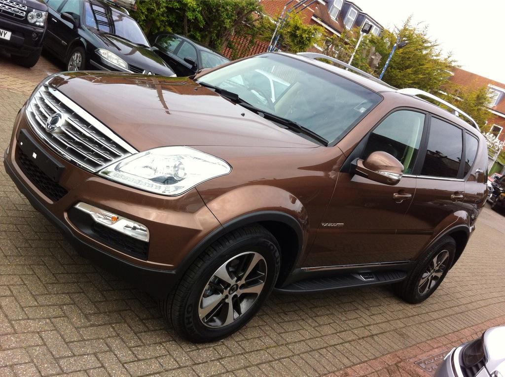 Lewis Ssangyong On Twitter The New Ssangyong Rexton Elx In