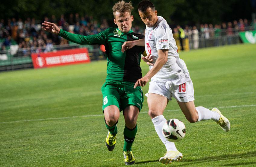 Ivanovski during the game