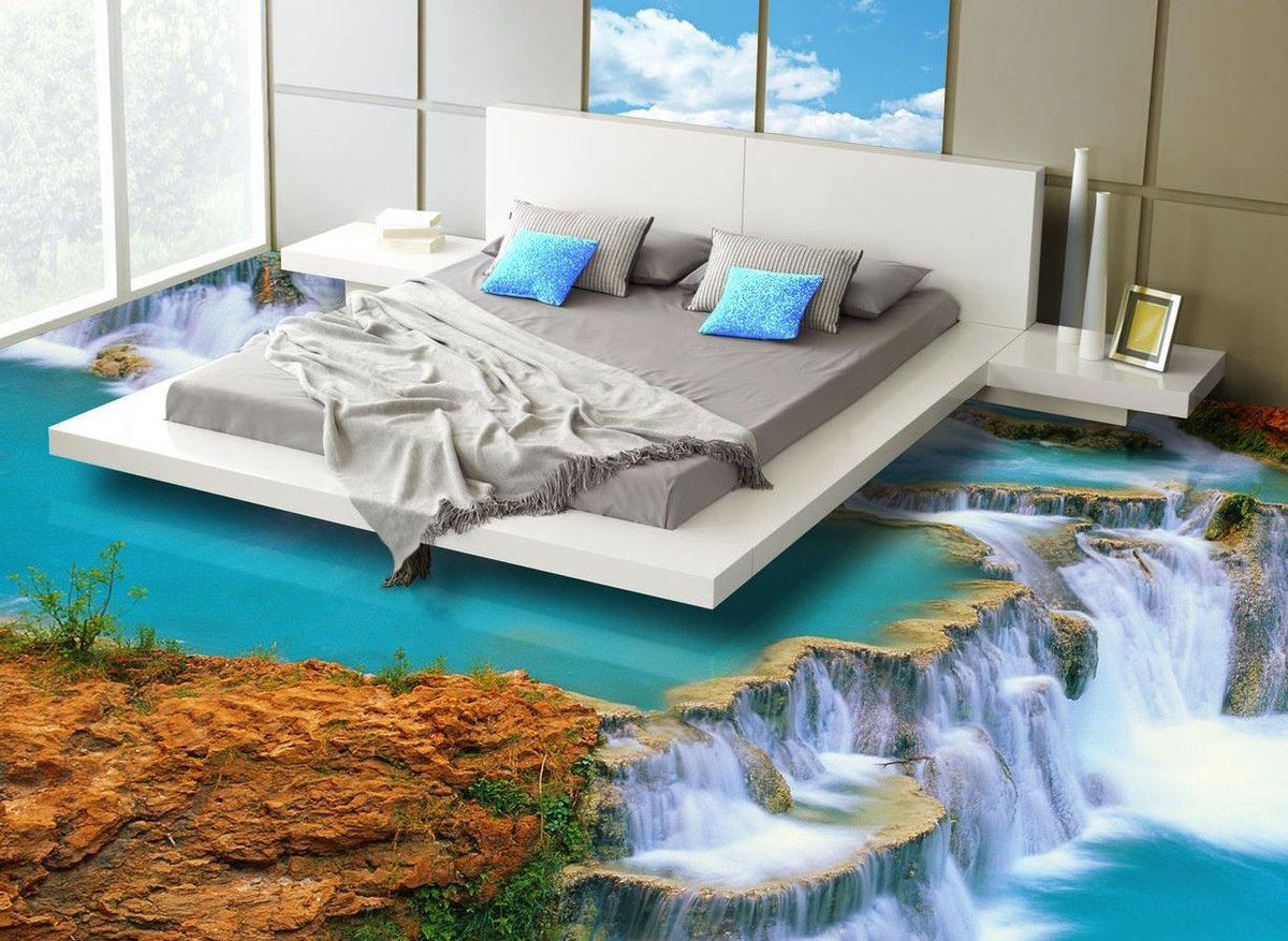 OddityMall On Twitter This Company Makes Epoxy Flooring That Turns Your Bathroom Or Kitchen Into A 3D Ocean Tco BzxwBwFLkO Design