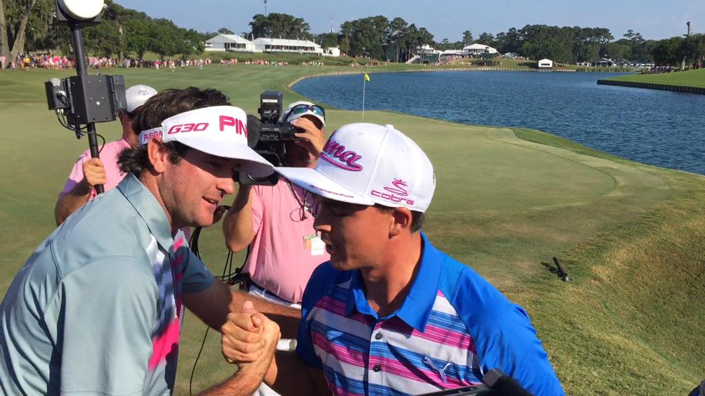 Lowest score in tournament history on the last four holes, with just 11 strokes. #THEPLAYERS http://t.co/gmgHDNFrZs