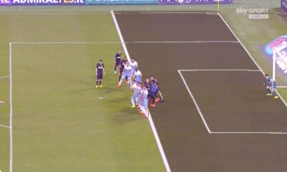 """Lazio-Inter 1-2, Mancini sogna l'Europa in """"fuorigioco"""""""