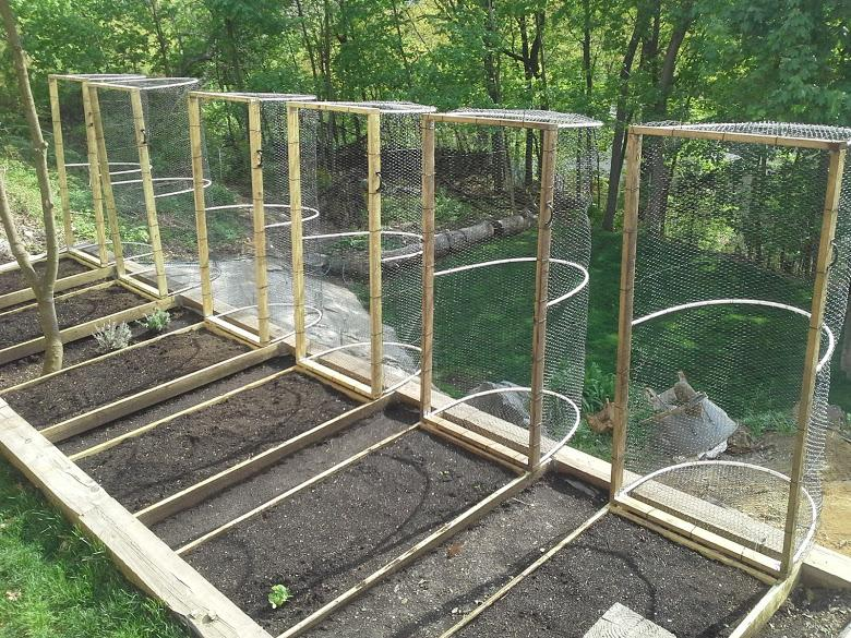 how to make a raised vegetable patch