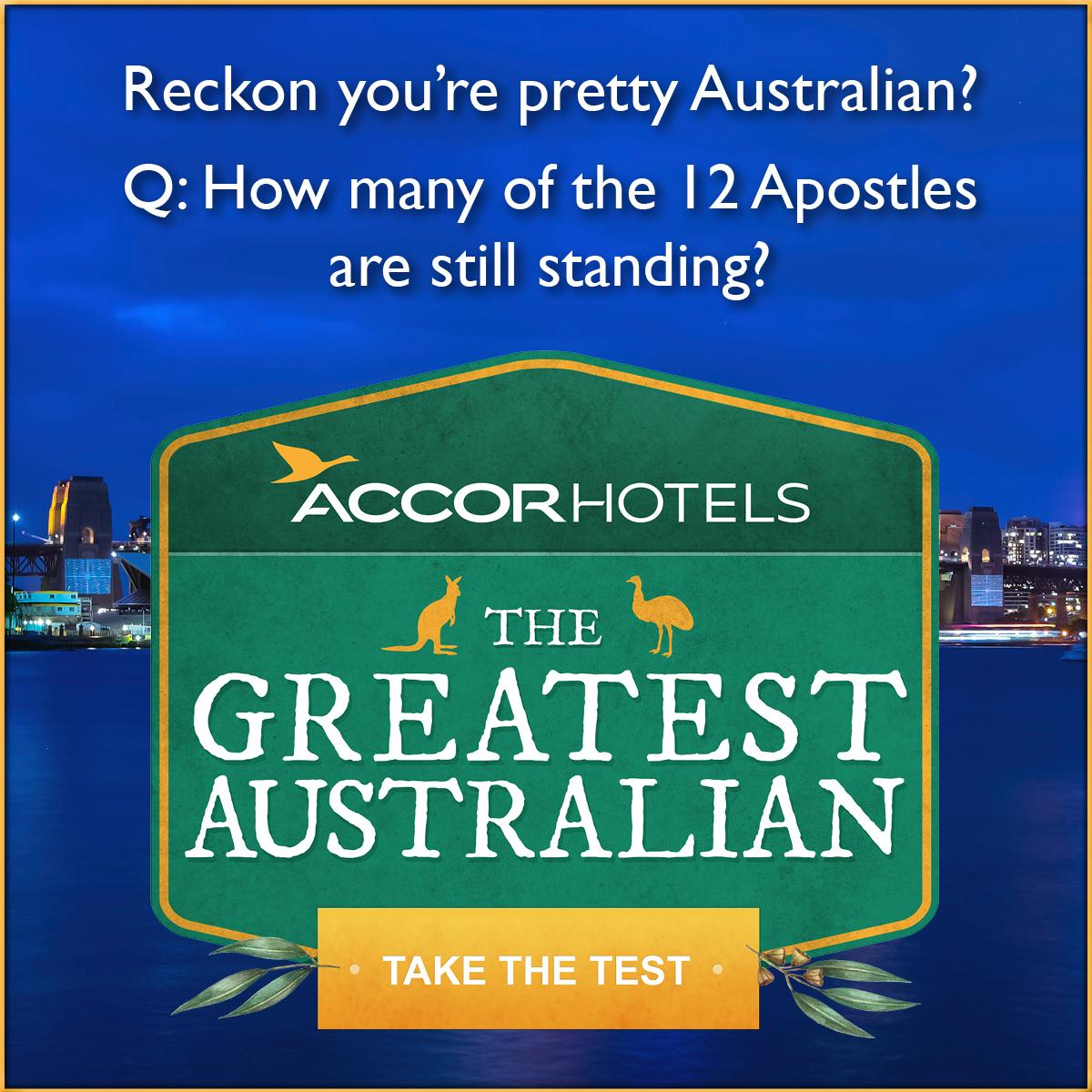 How Aussie are you? Take the quiz, share your result and you could win great prizes http://t.co/DEoUbhnEQ1 http://t.co/l10vyUUhu6