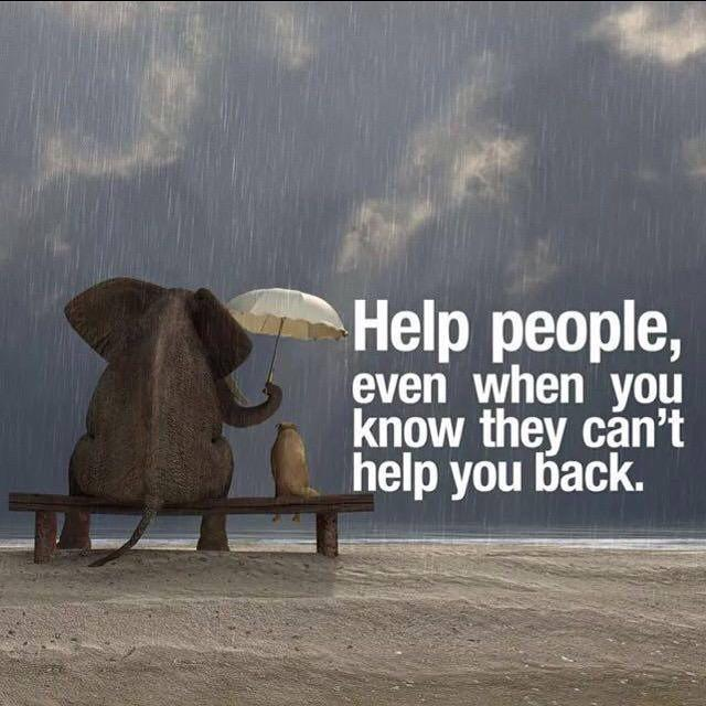 Help people, even when you know they can't help you back.  via @raehanbobby @10MillionMiler http://t.co/NIZ5Gdjzj7