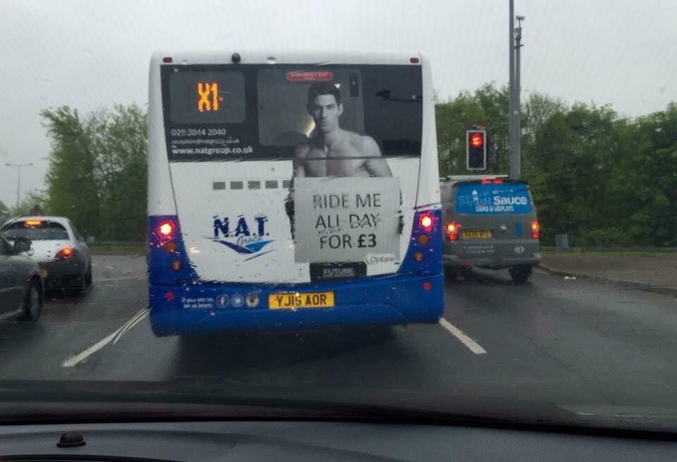 Don't worry men, your bodies aren't immune from the sexualisation of @NAT_group either! Terrible marketing. http://t.co/24KHF6LcIz