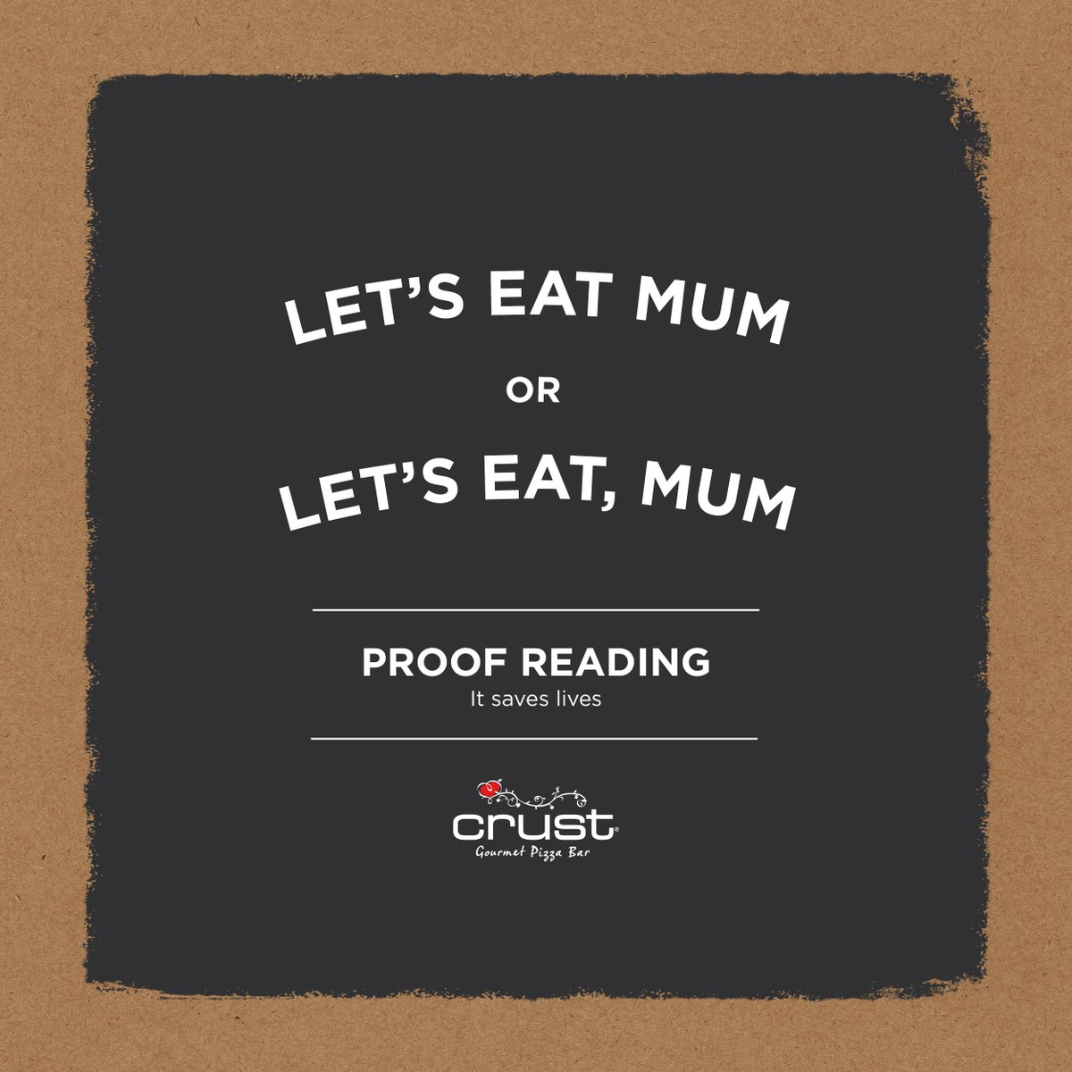 "We're guessing you've heard about ""Curst-gate""…proof reading saves lives http://t.co/jPLs7j1B3O"