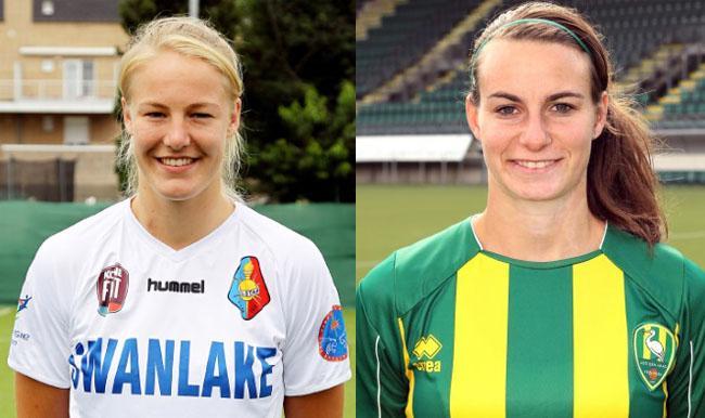Fc Twente Vrouwenさんのツイート Stefanie Van Der Graft En