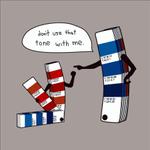 Image for the Tweet beginning: Designer Jokes #Creative #Print #BusinessCards