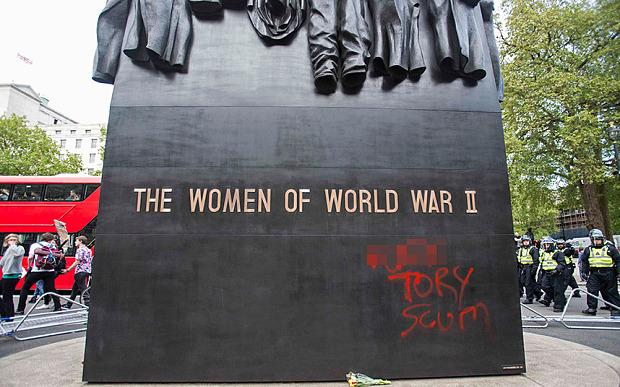 The Women of World War II inexplicably fall victim to angry protests