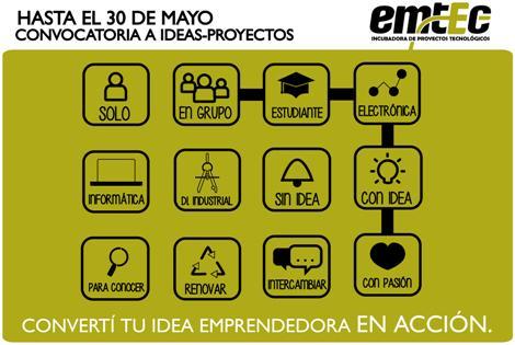 """Convocatoria 2015 de Ideas-Proyectos  """"Convertí tu idea en Acción"""". #LaPlata #Emprendedores  http://t.co/sJgrIVtOUU http://t.co/87NTQgjSlE"""