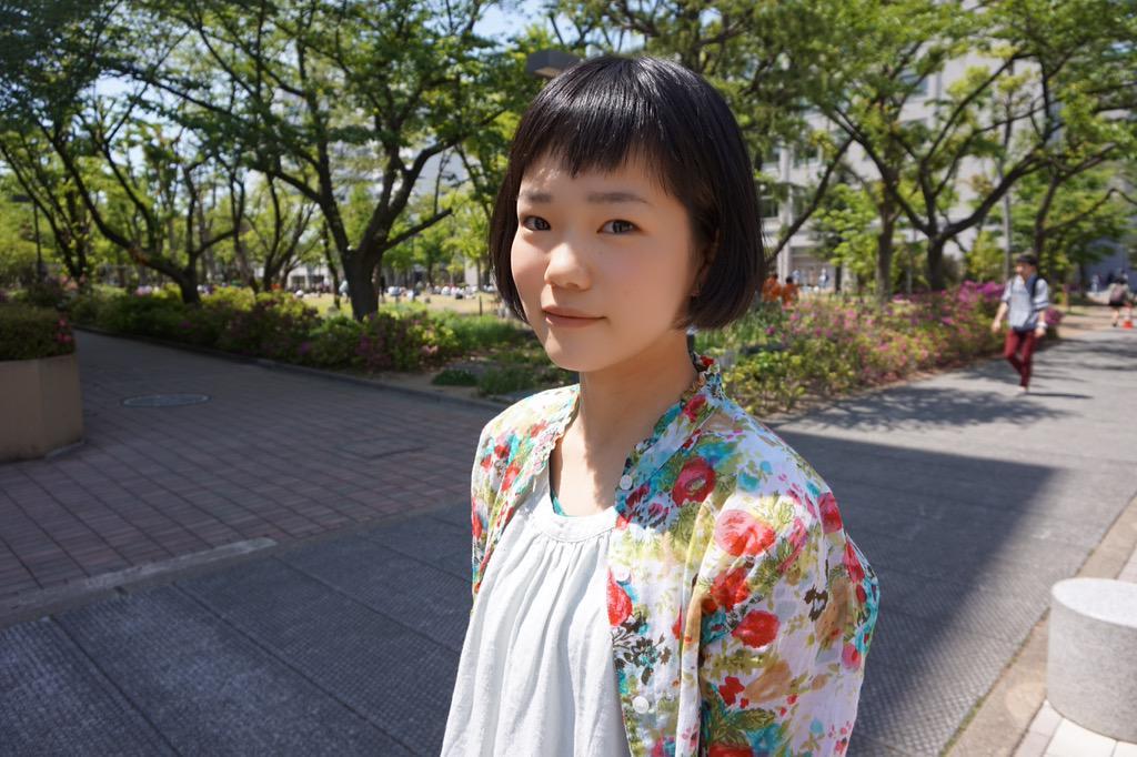 "DOKKYO SNAP on Twitter: ""model : 片山あすか (英語・1) item ..."