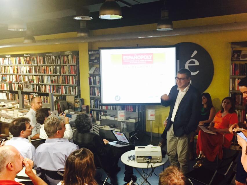 Ya aquí... Presentación de #españopoly de @evabelmonte http://t.co/0f931jJCkx