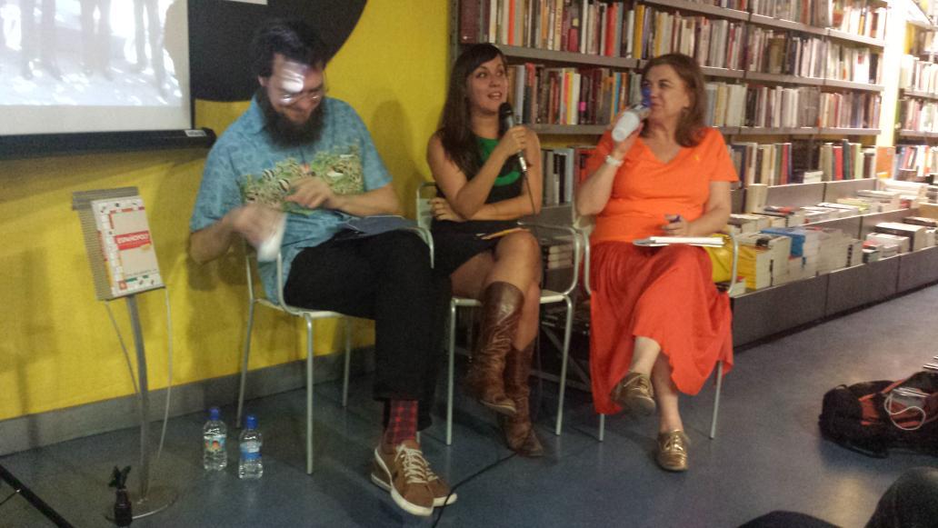 presentación del libro #Espanopoly de @evabelmonte, gran libro para entender los tejemanejes del poder en España http://t.co/yZb4Yr0Oz6