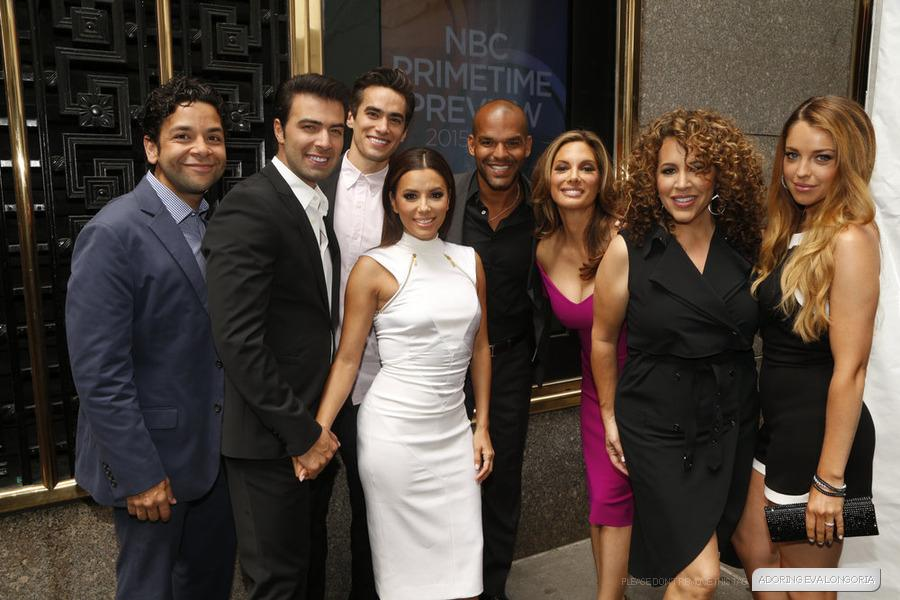 Cast of the #HotandBothered at The 2015 NBC Upfront Presentation - (11th May 2015) http://t.co/kI2XpjCloq http://t.co/9OSNw2Conf