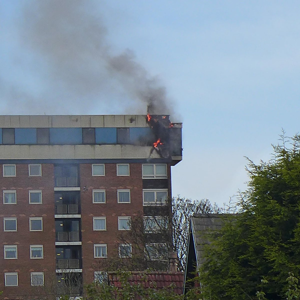 Fire In Liverpool Tower Block Itv News